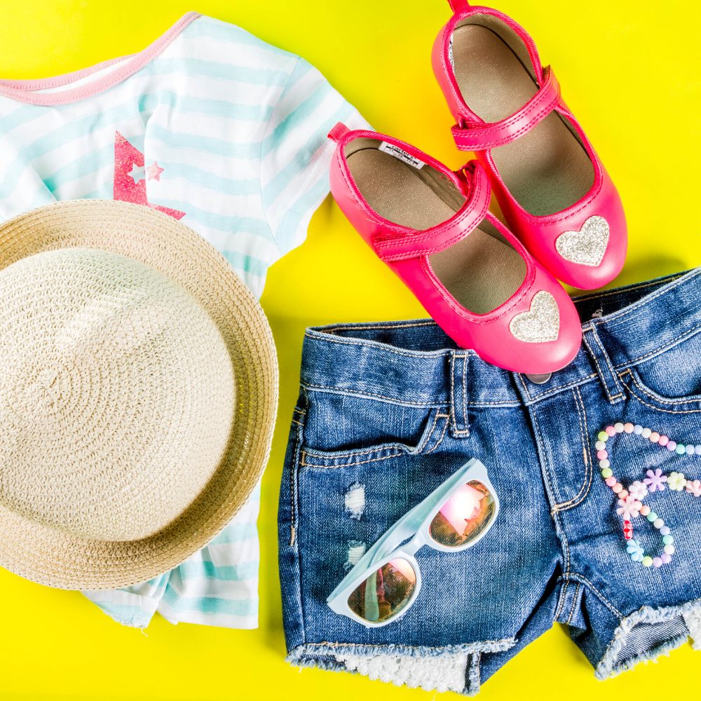 create a kids capsule wardrobe