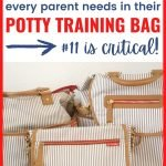 12 Must-Haves for Any Potty Training Bag