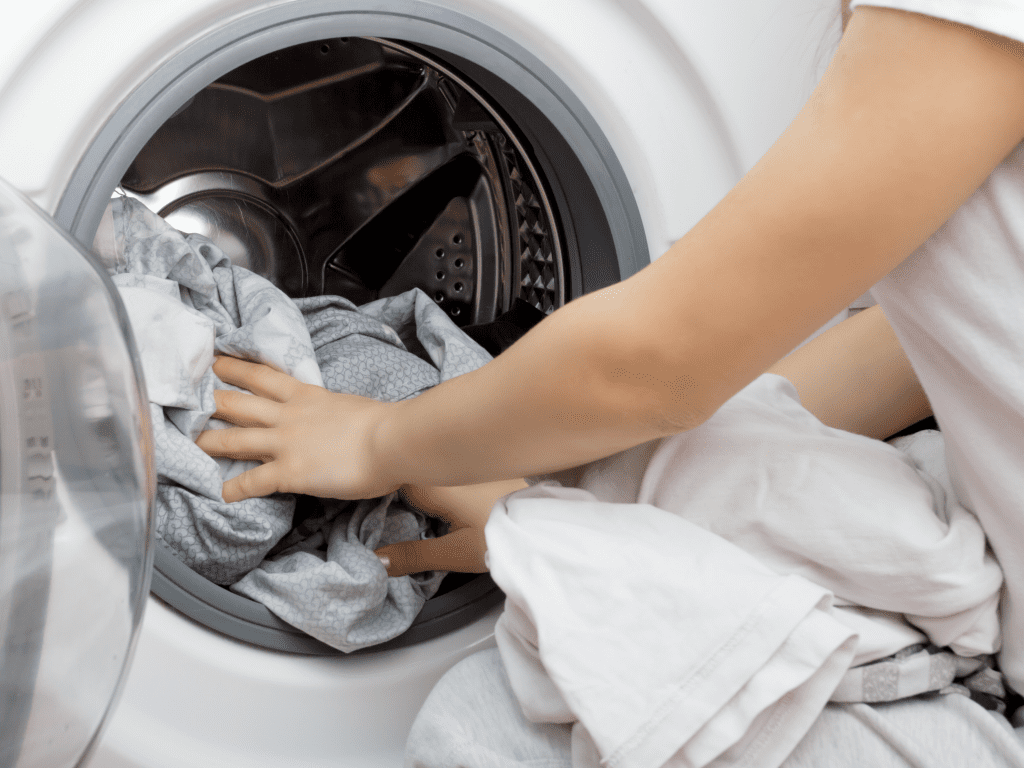 reduce the laundry load