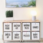 organizing toys without a playroom